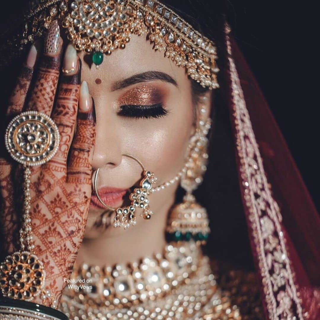 Stunning Bridal Makeup Portrait