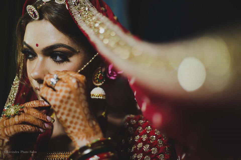 Indian Bridal Portrait Picture