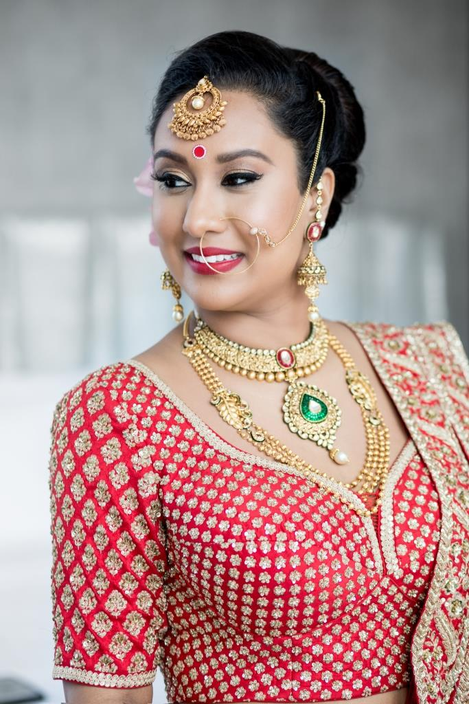 Red bridal lehenga (2)