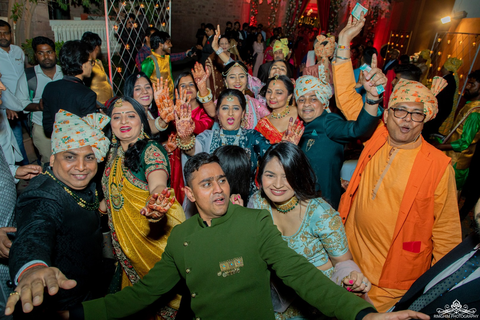 Indian Baraat Dance Images