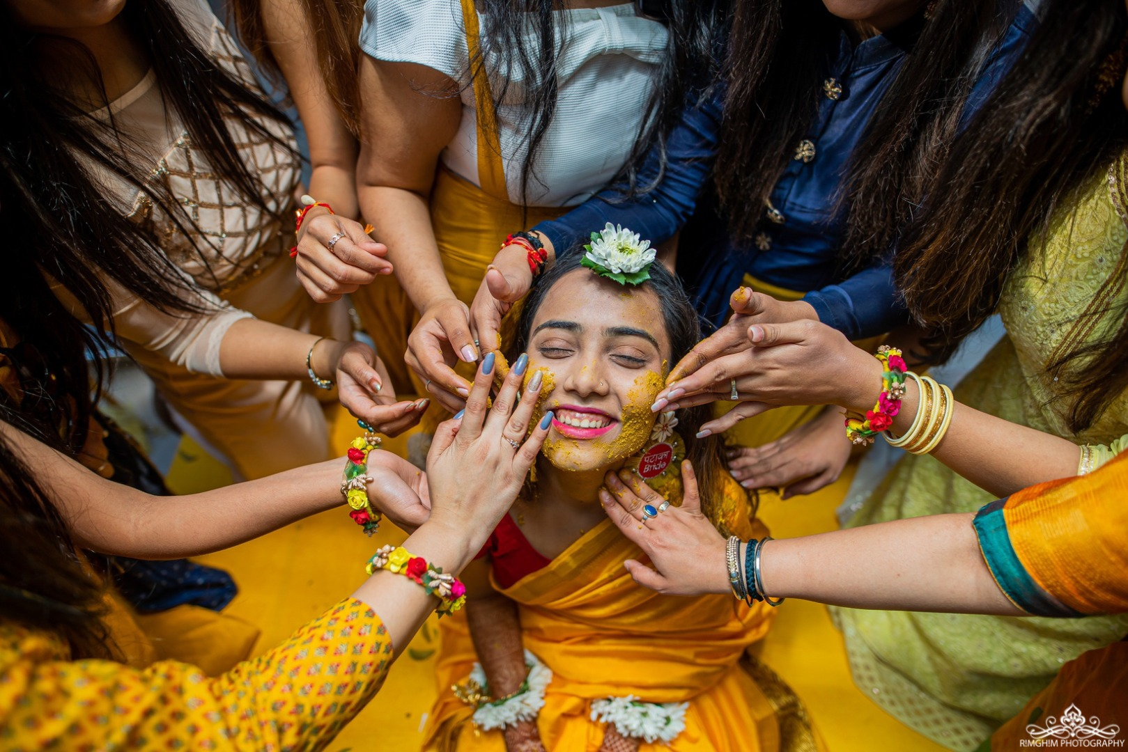 Haldi Photography Ideas you must try at your wedding