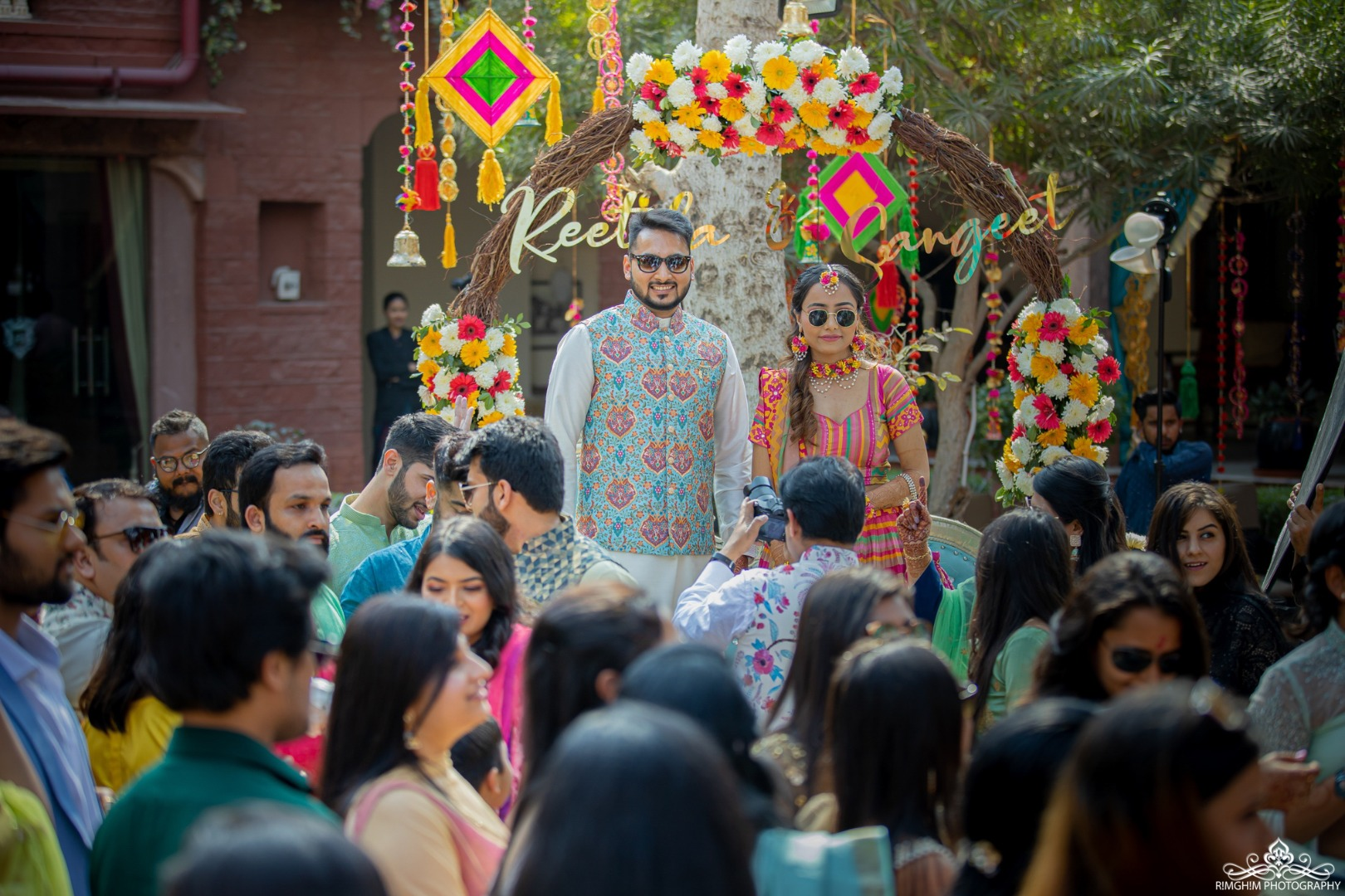 Mehendi Function Candid Pictures