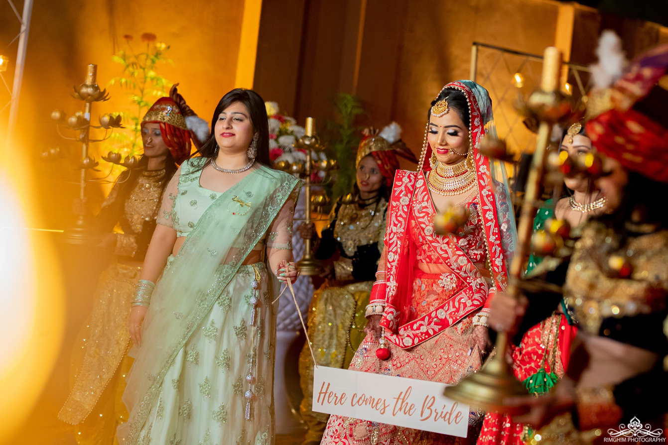 Amazing Bridal Entry in Indian Wedding