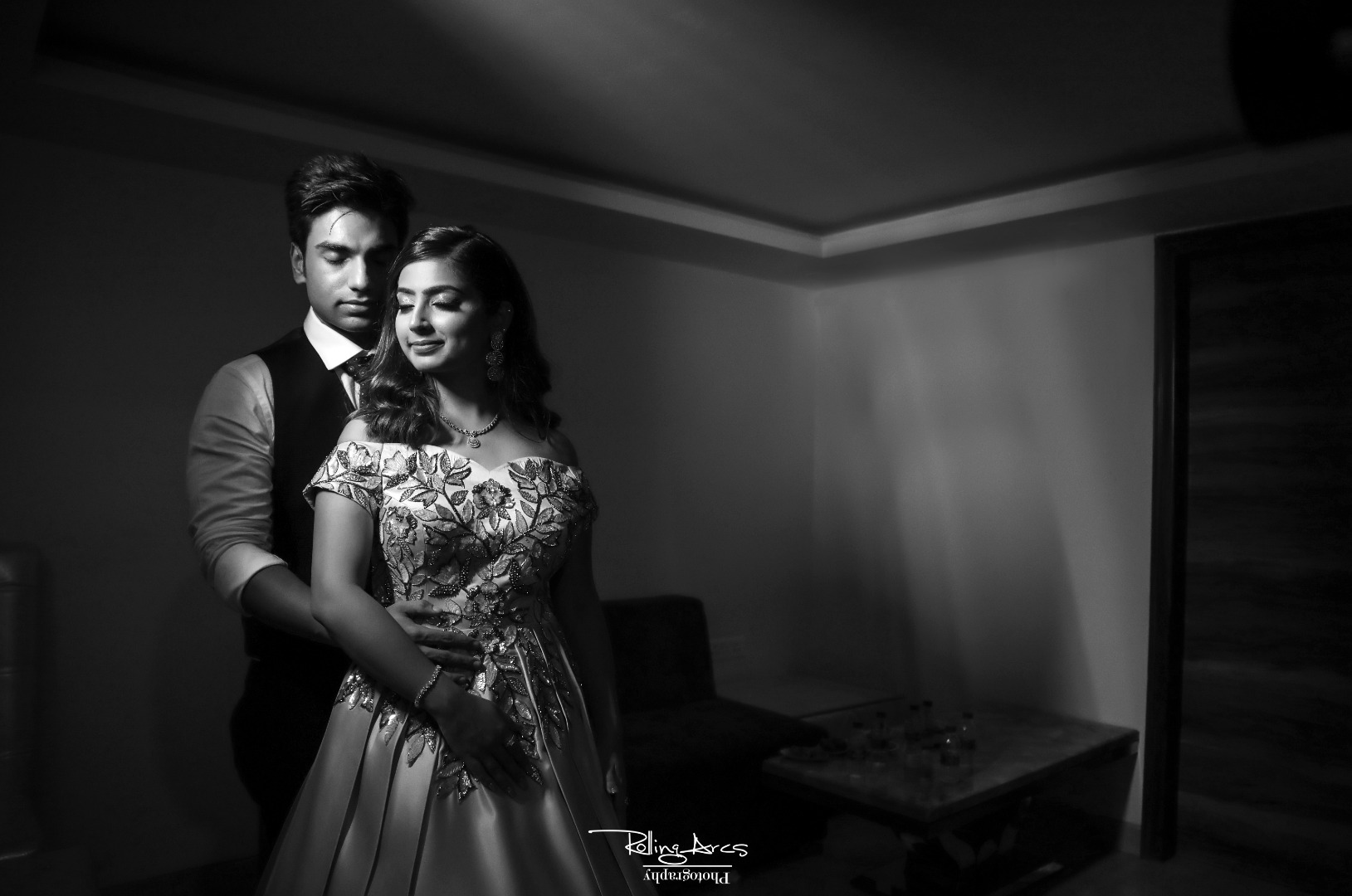 Black and white Roka photography