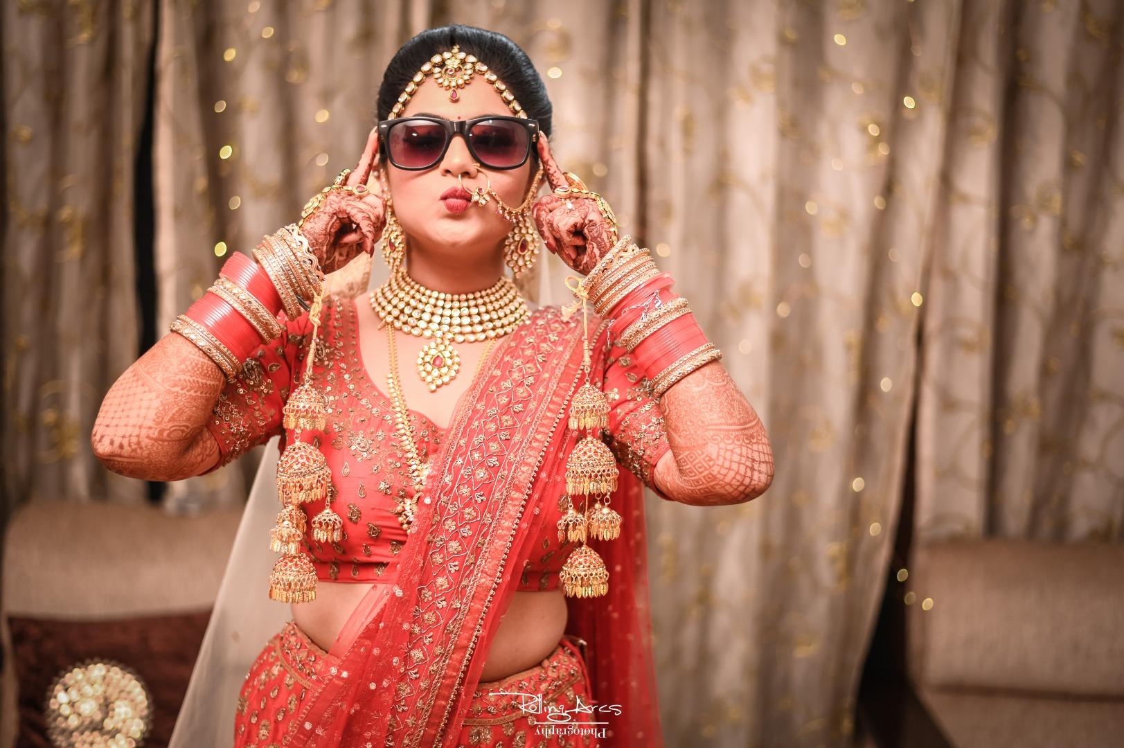 Smart Bride in Sunglasses