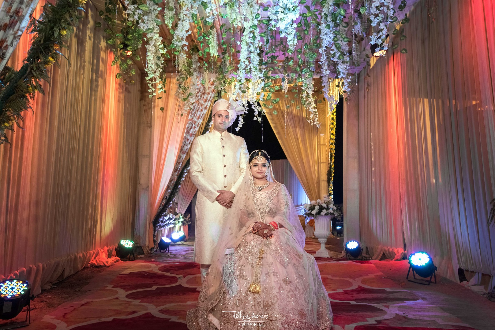 Beautiful Indian Wedding Couple Picture