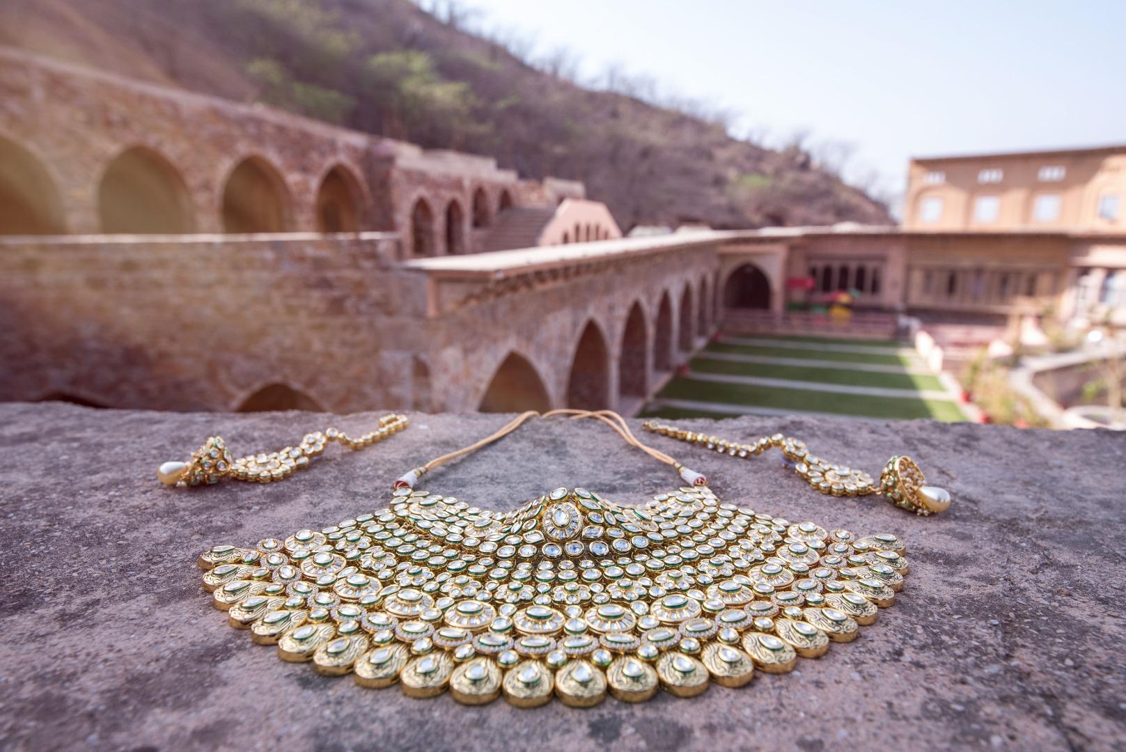 Elegant Indian Bridal Jewellery