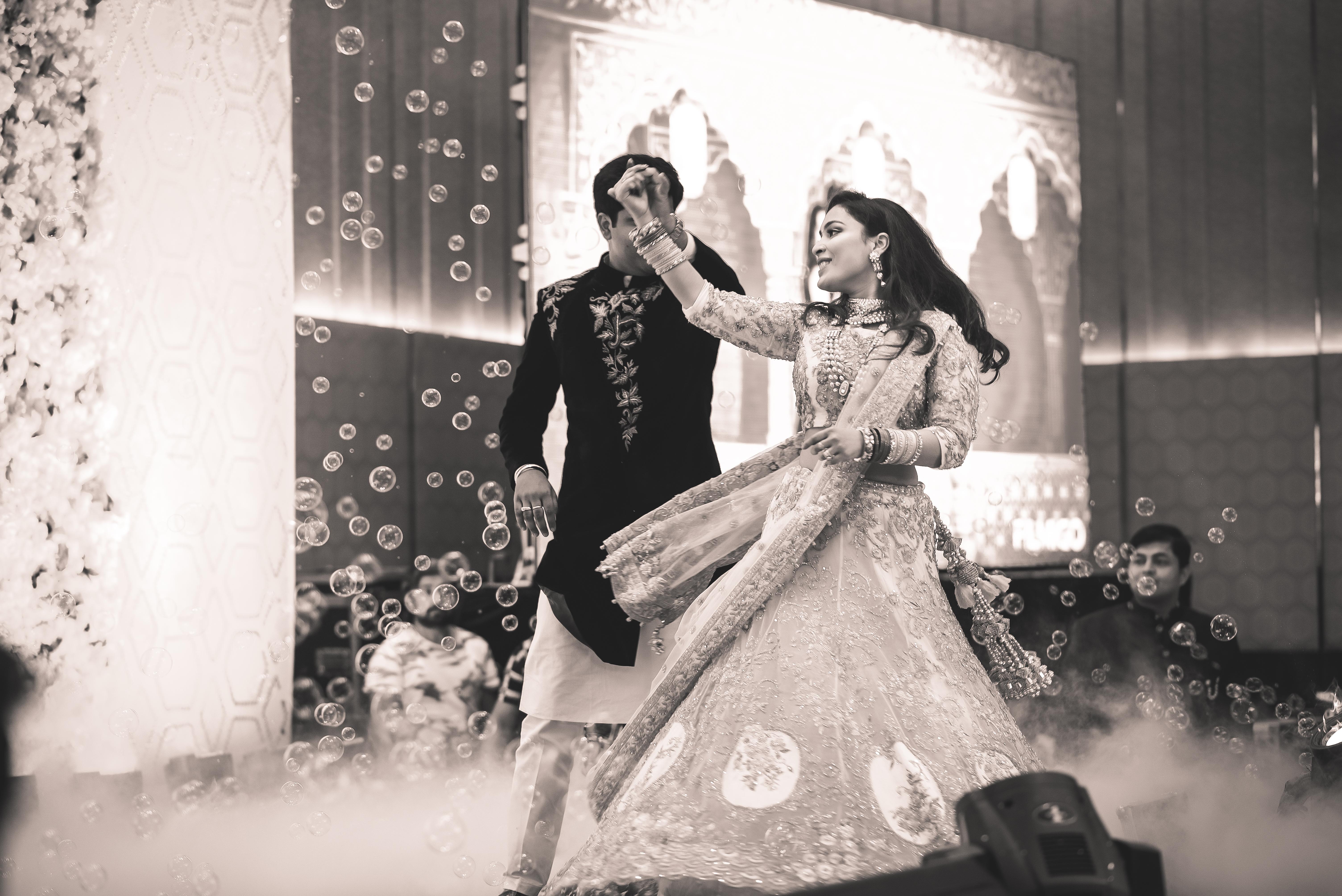 Fun Indian wedding dance performance