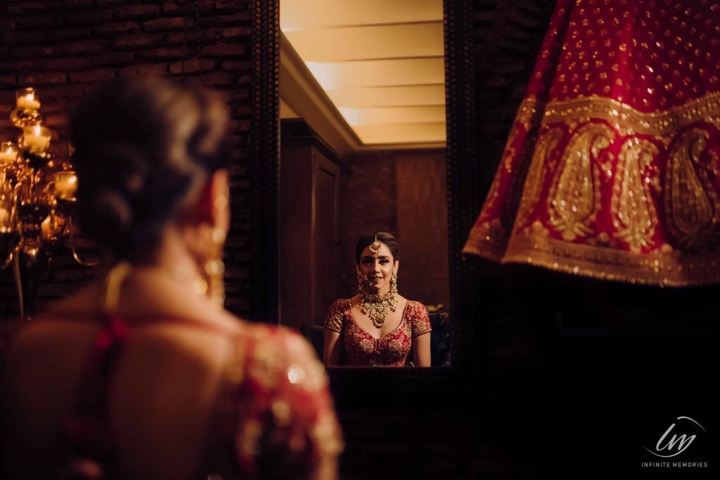 Royal kashmiri themed wedding decor