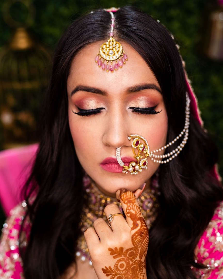Beautiful Briadl Makeup & Hairstyling