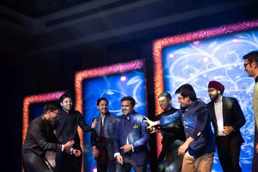 Sangeet dance
