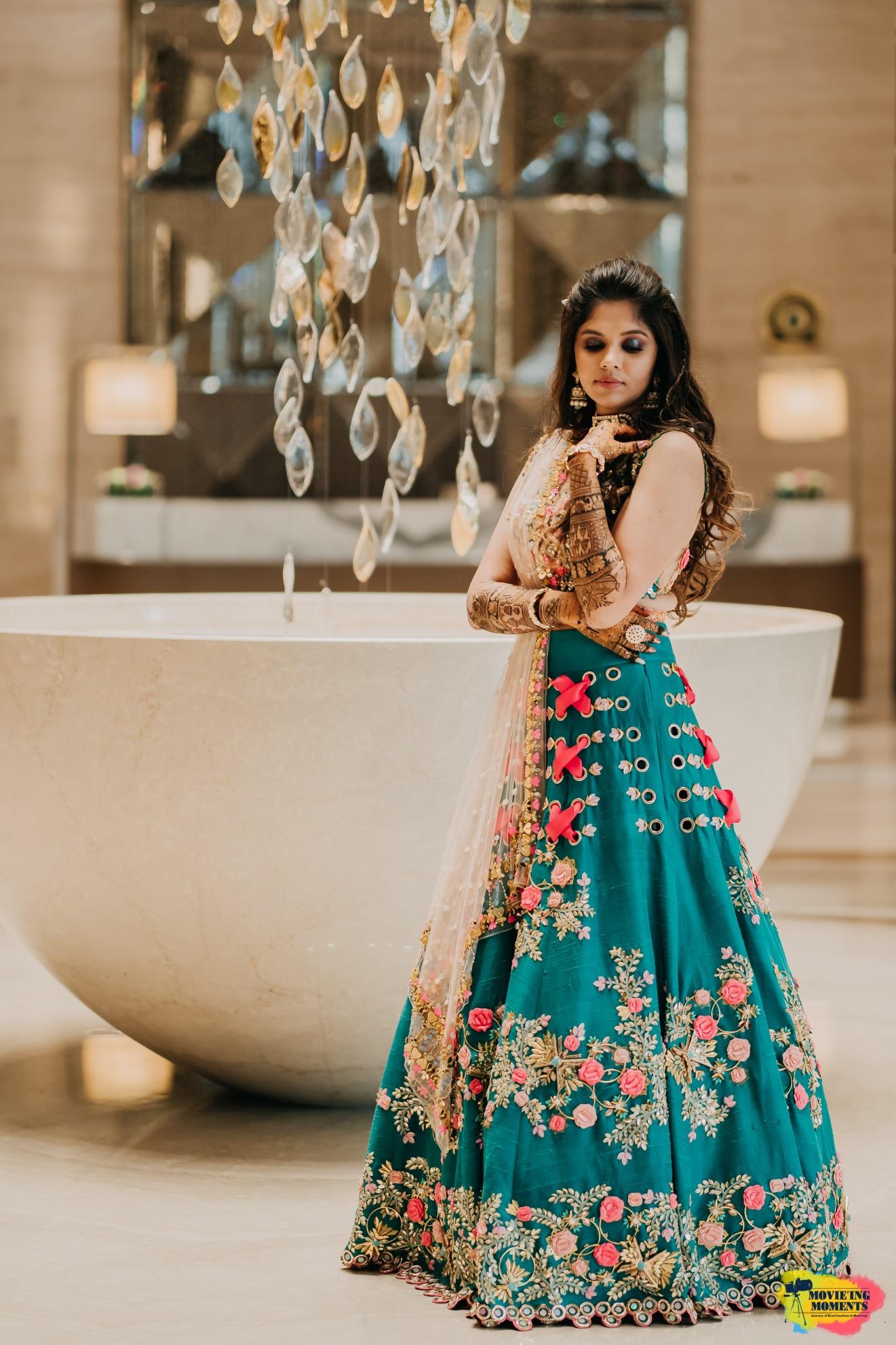 Sangeet lehenga designs
