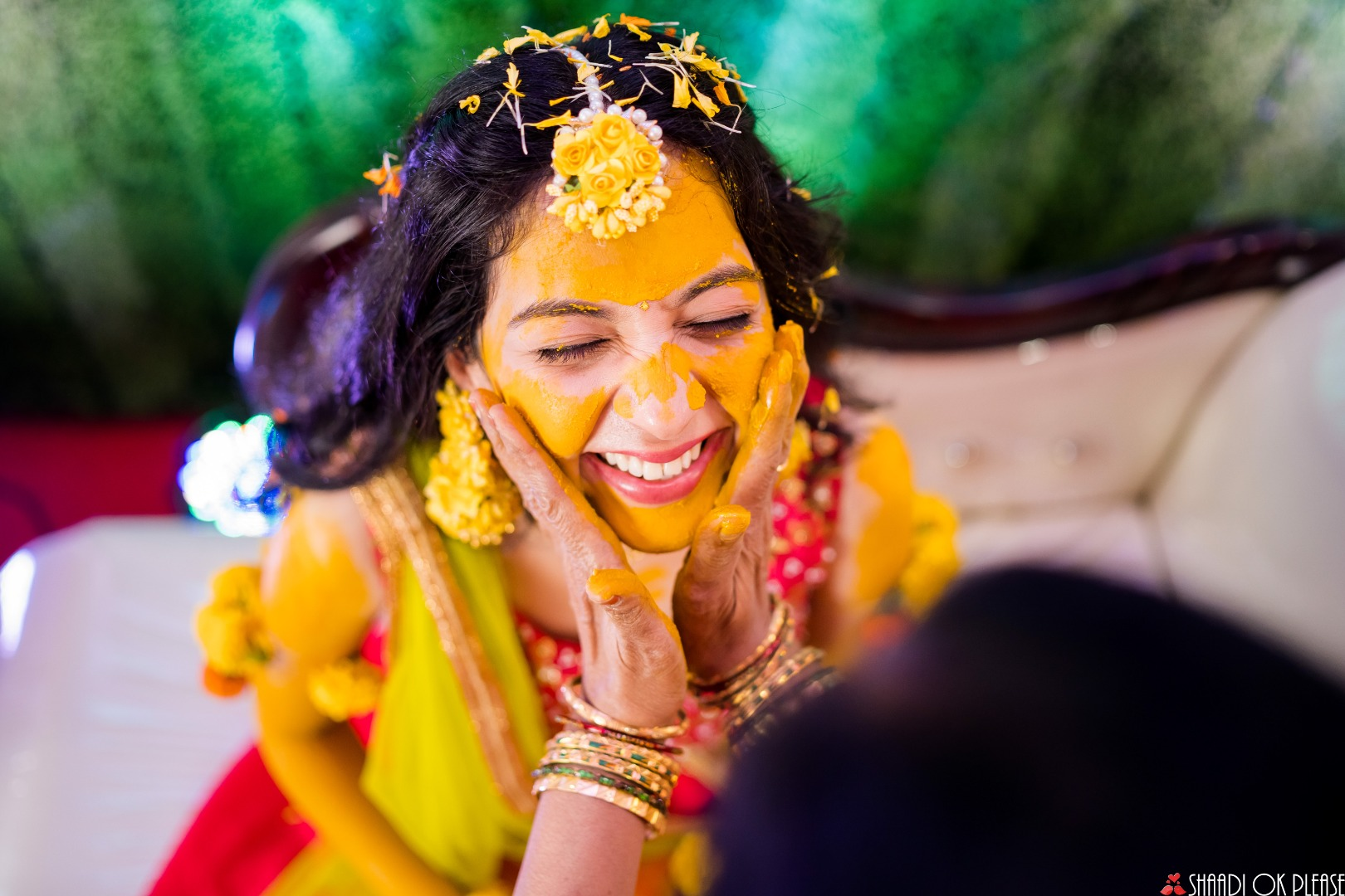 Beautiful Haldi Pictures
