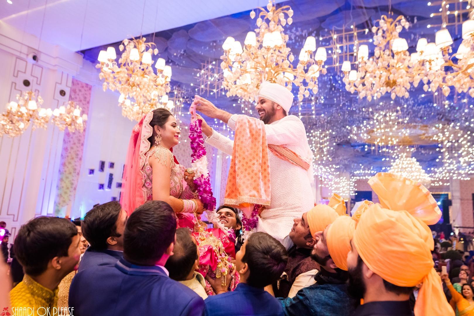 Varmala Ceremony in Indian Weddings