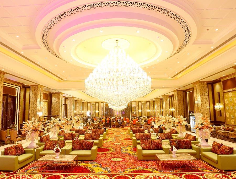 wedding banquet halls decoration