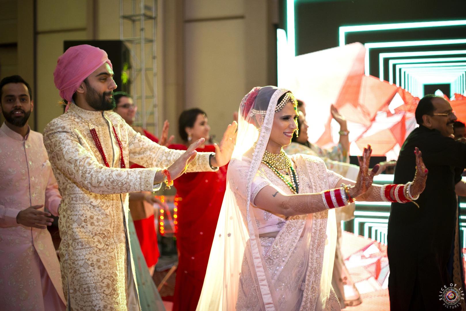 Couple Dance Performance at Wedding