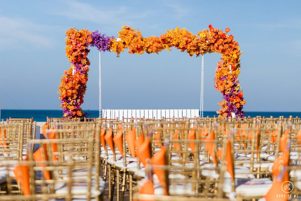 South Indian Wedding flower decoration