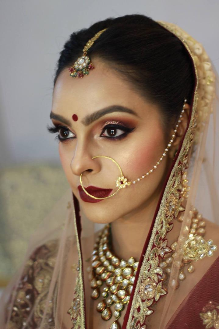 Traditional Indian Bridal Eye Makeup