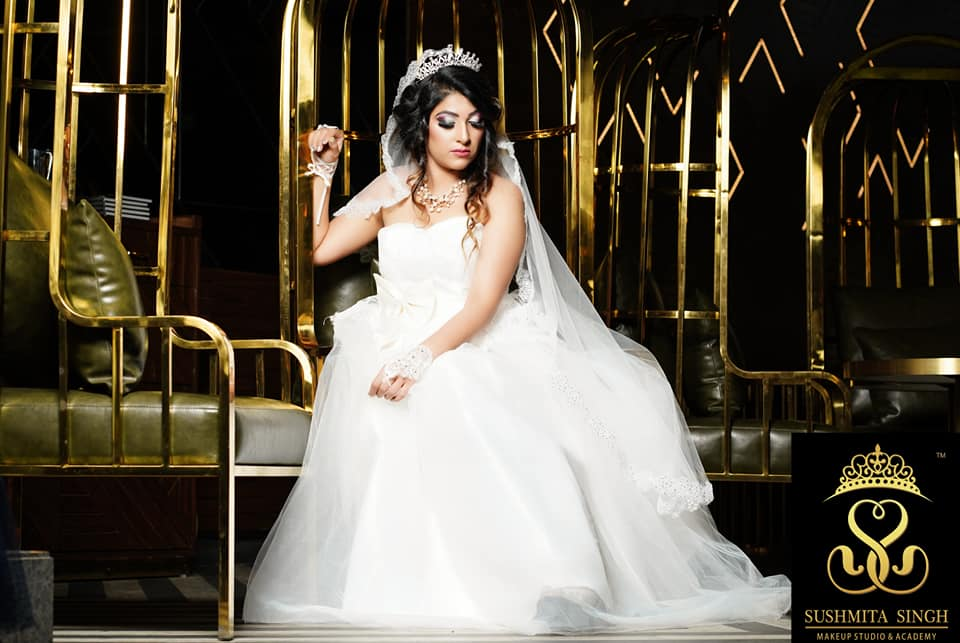 Makeup Look for Christian Bride