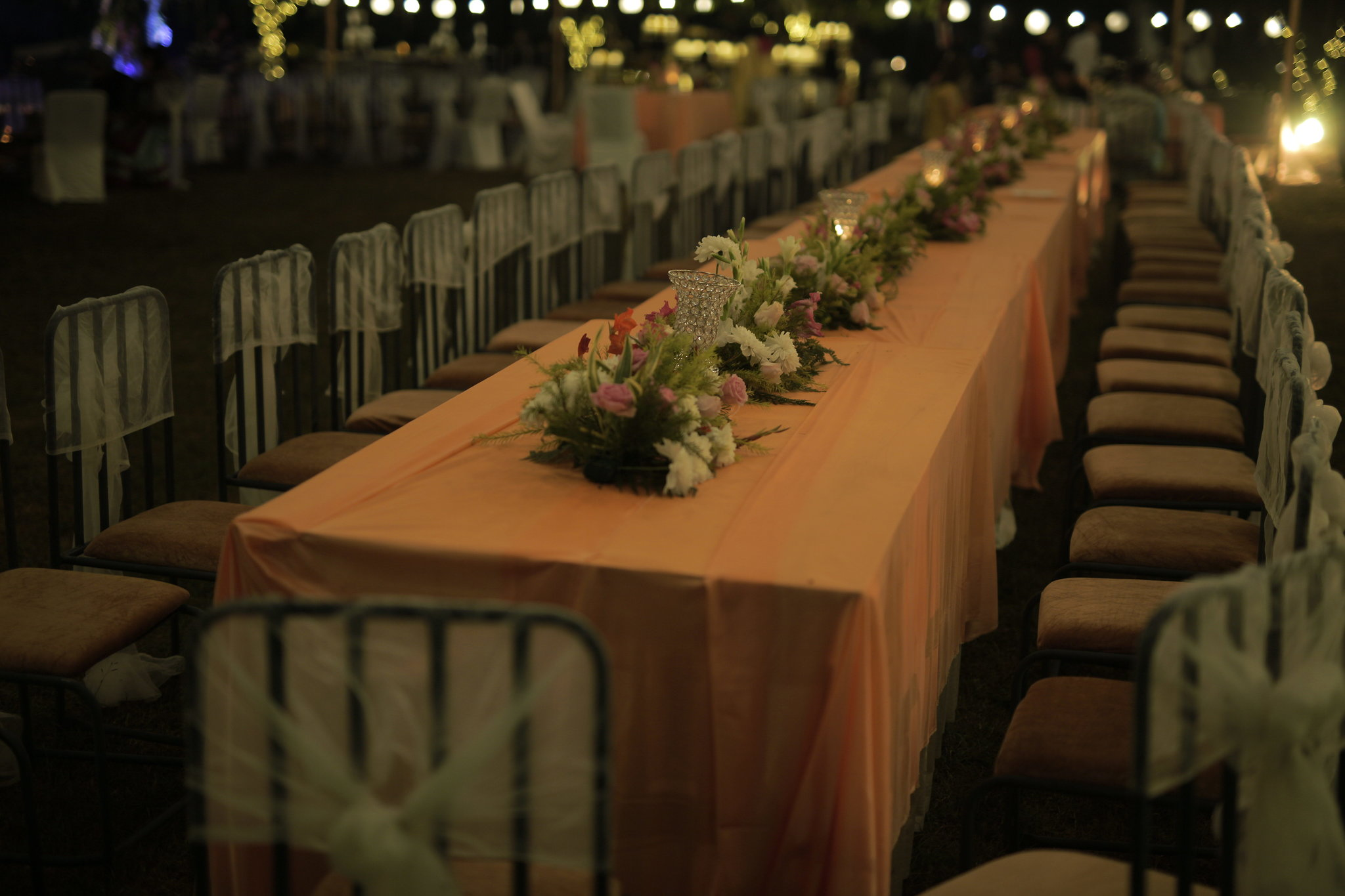Table and chair decorations