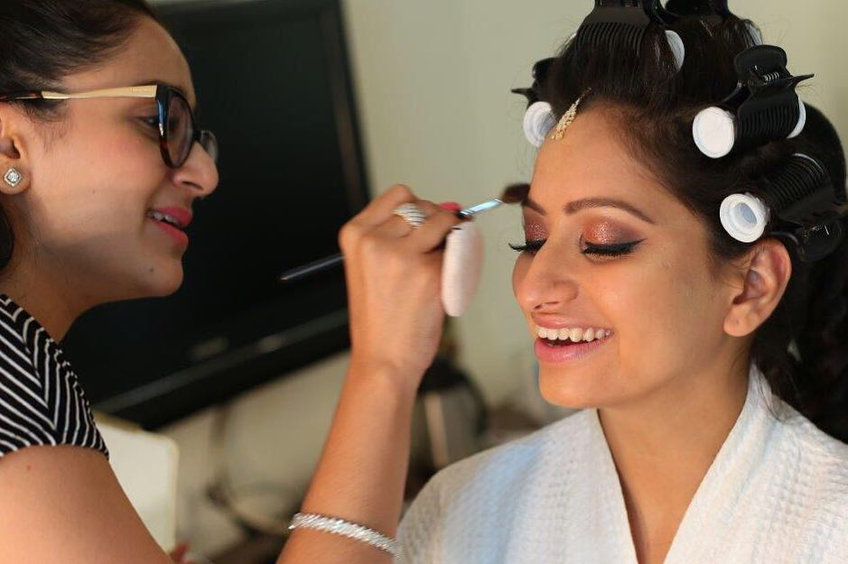 Bride Getting Dolled up by Tejasvini Chander
