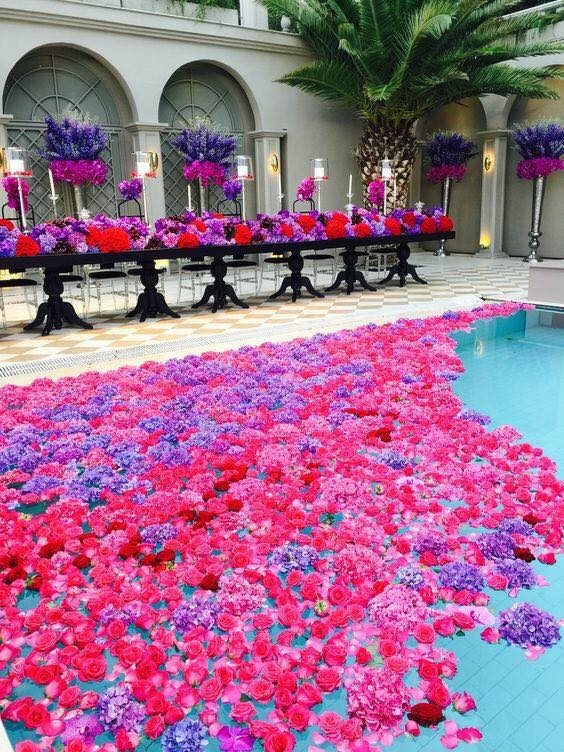 floral pool ultimate wedding planning guide