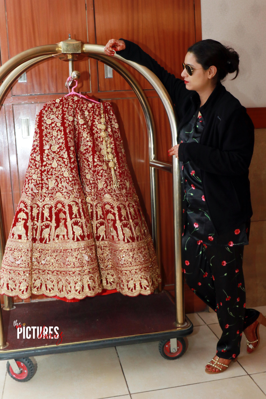 Indian Bridal lehenga Photography