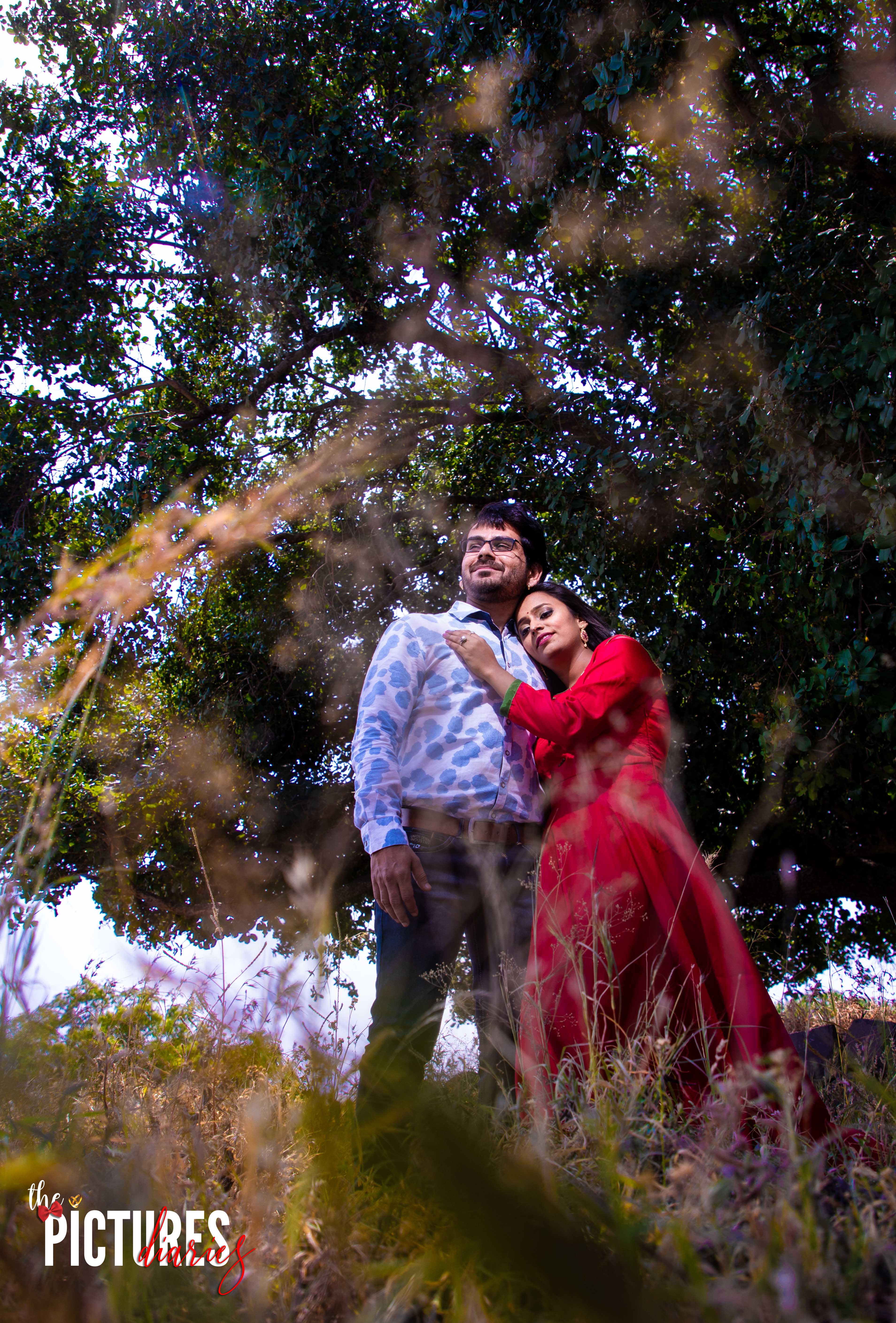 Pre-wedding Shoot in Forest