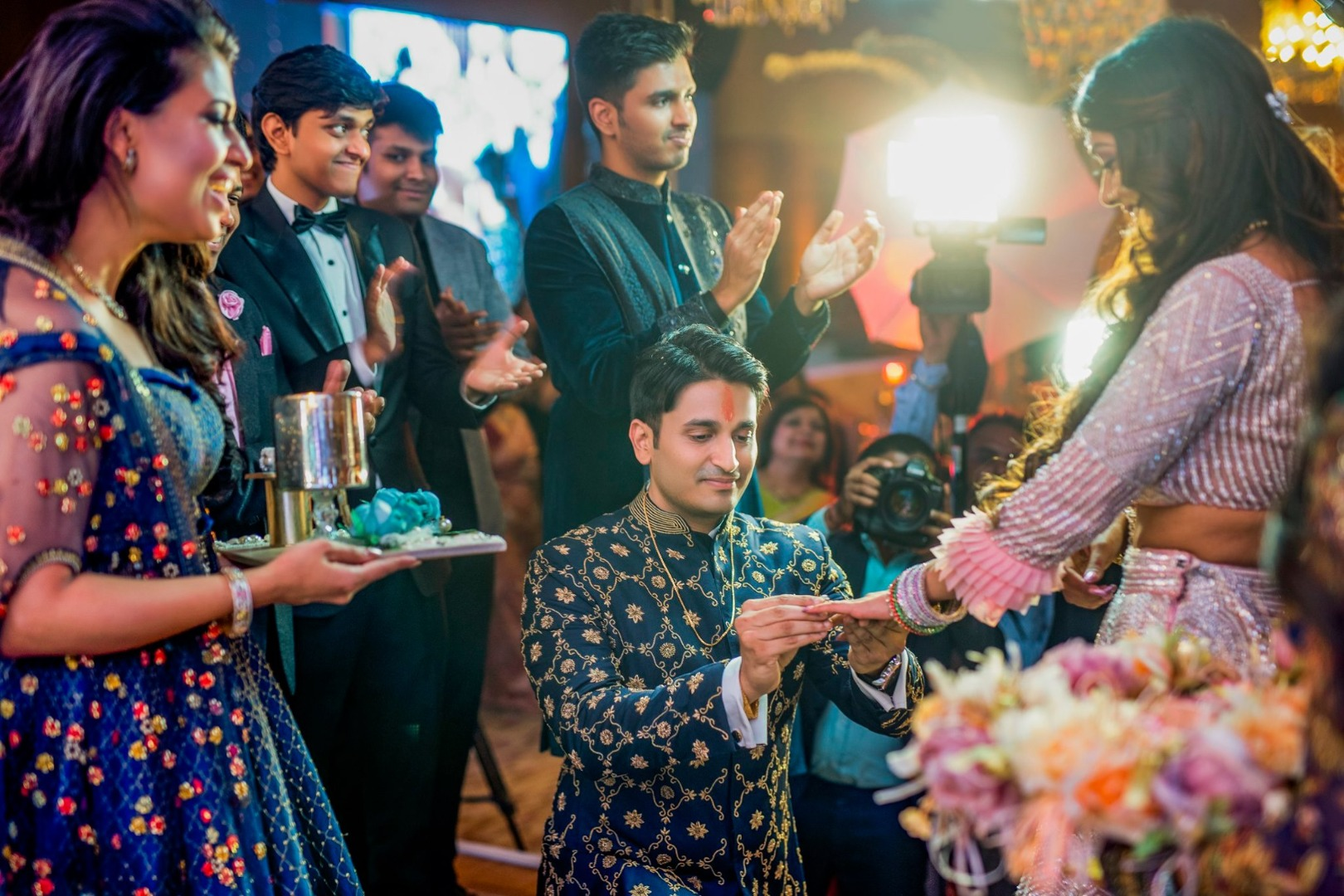 Indian Ring Ceremony Pictures