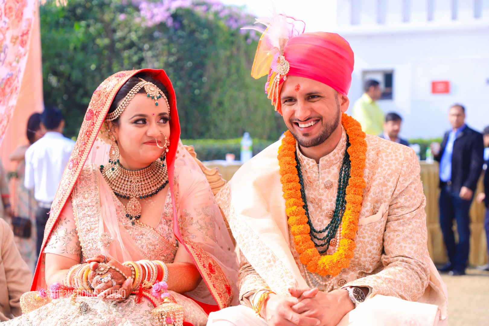 Aesthetic Wedding Couple Photos