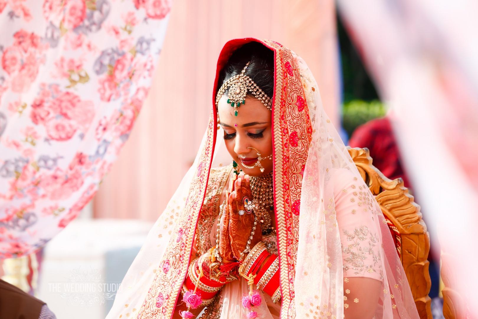 Candid Indian Bridal Portraits