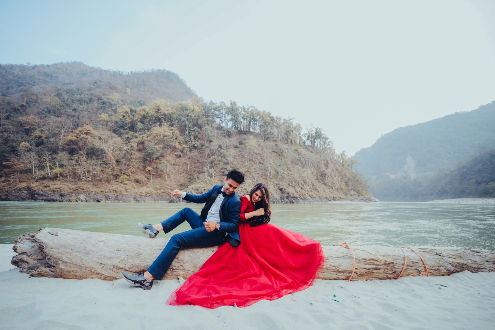 Unique Pre Wedding Photography Settings