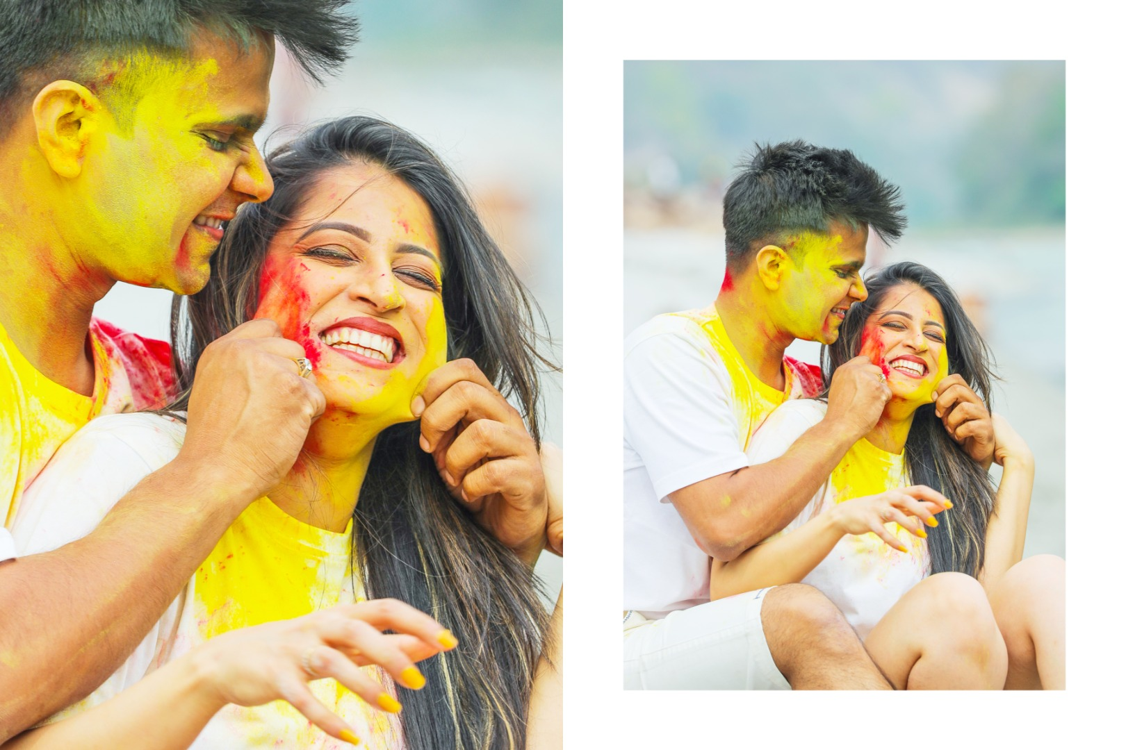Holi Inspired Pre Wedding Shoot