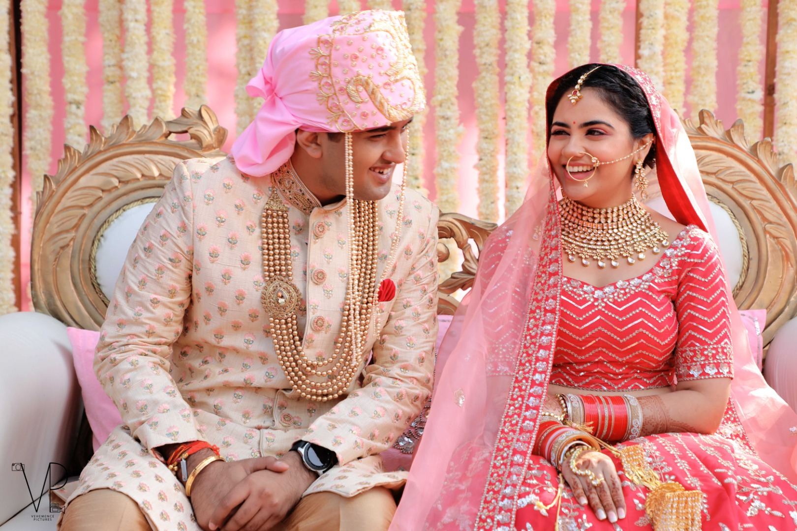 Indian Newly Married Couple Goals