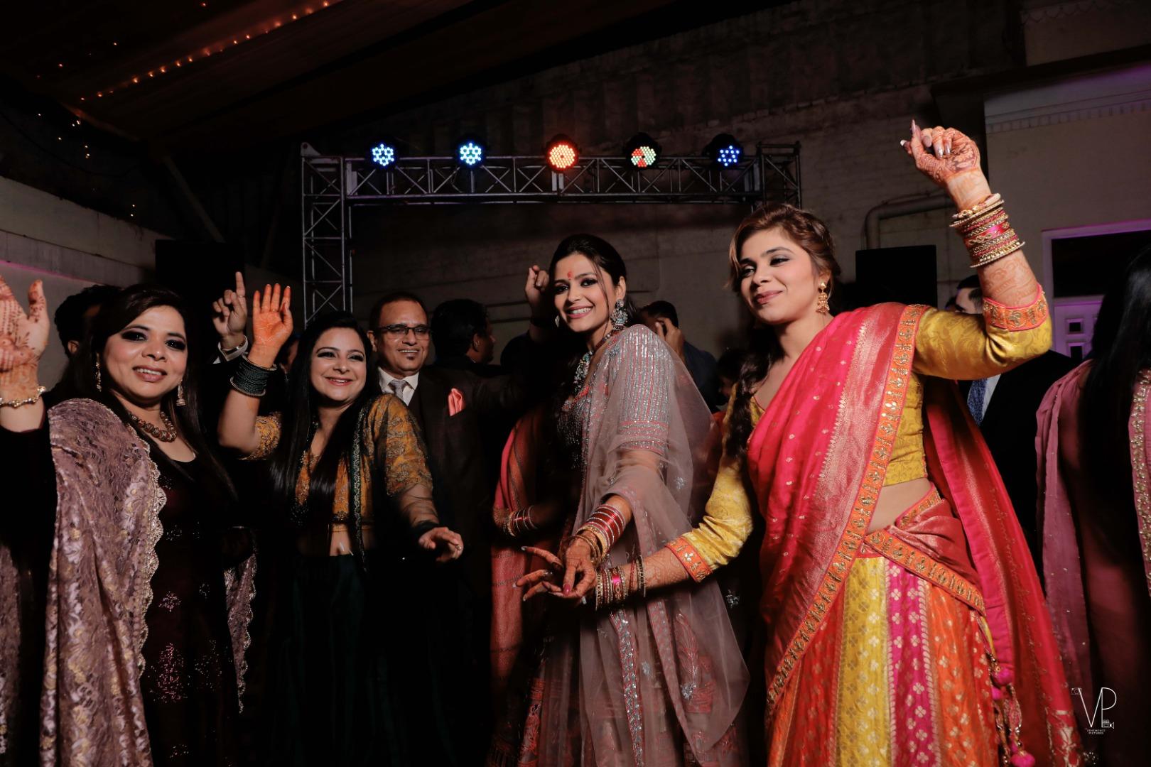 Indian Wedding Dance Floor Pictures