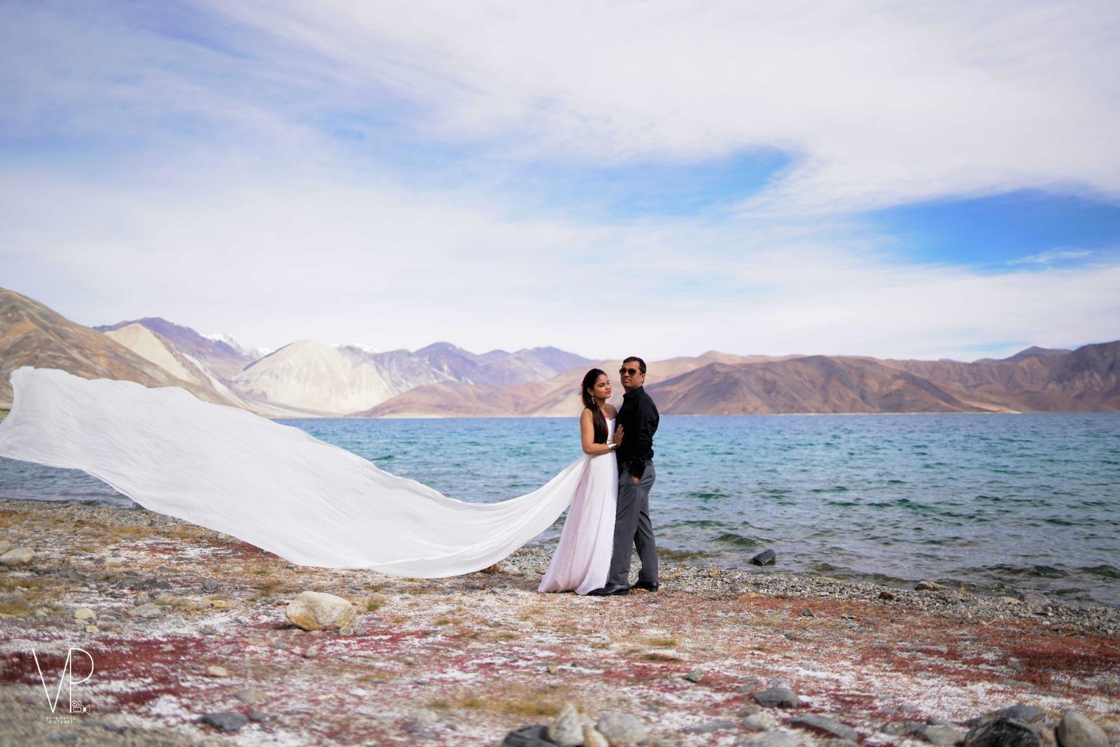 Royal Beach Side Pre-wedding Photoshoot