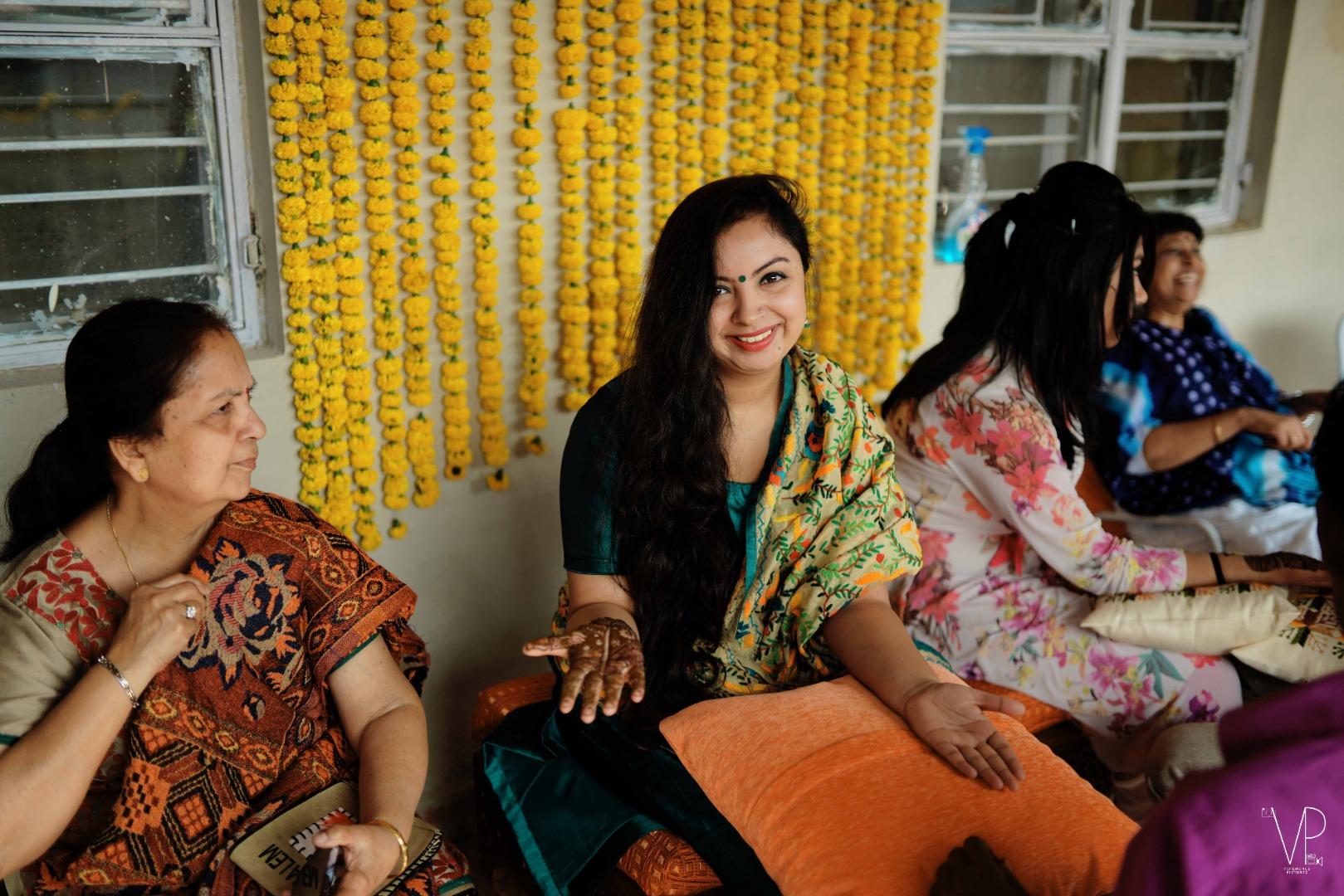 Mehendi Wedding Guests