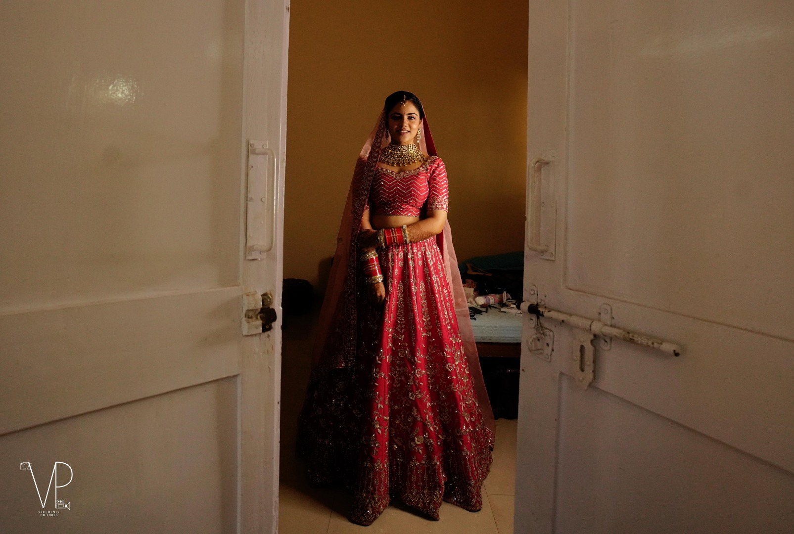 Stunning Indian Bridal Portrait