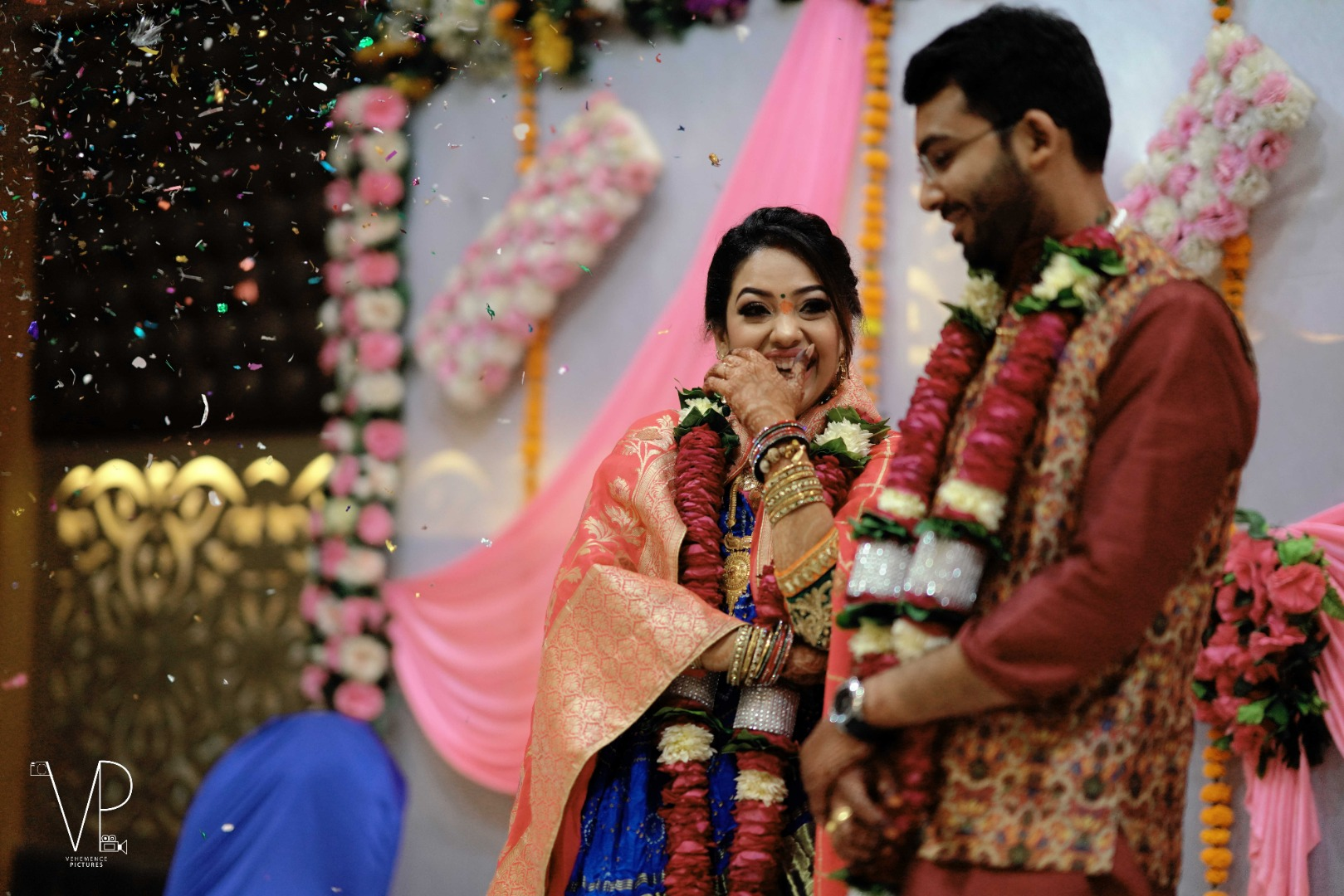 Candid Newly Married Couple Photography