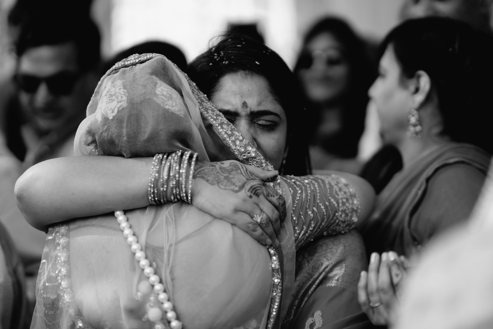 Vidai Ceremony Emotional Mother-Daughter Moment