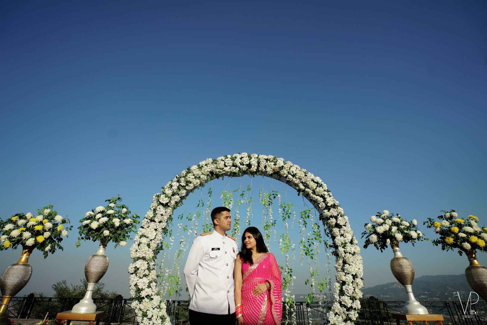 Floral Outdoor Wedding Decor Ideas