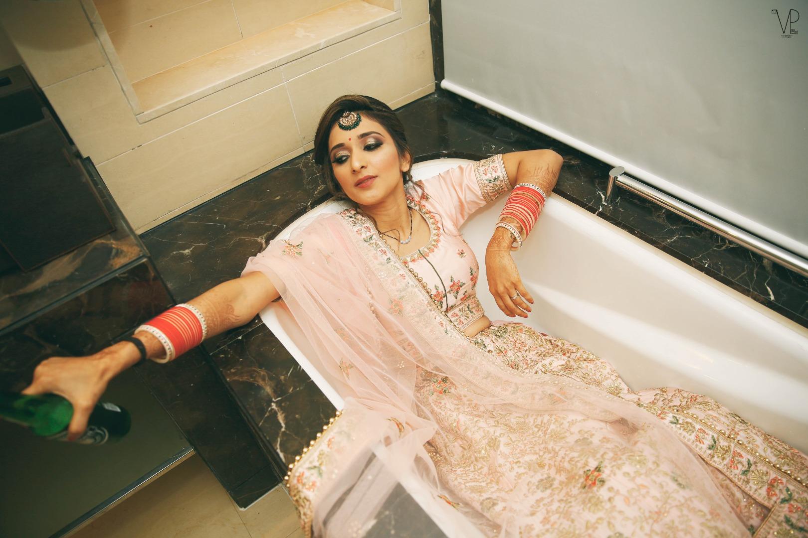 Trendy Indian Bridal Photo Ideas