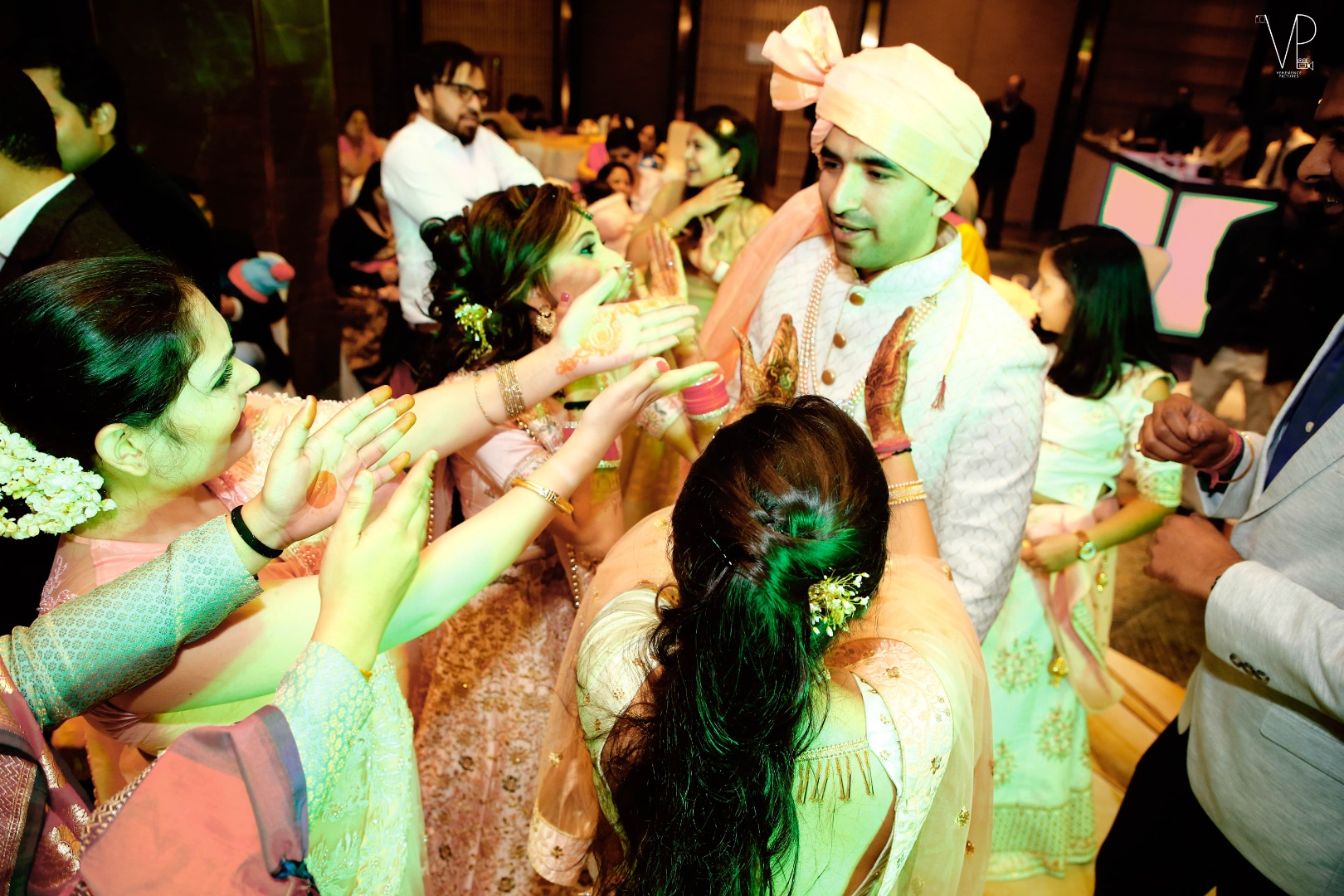 Groom Dance with Family