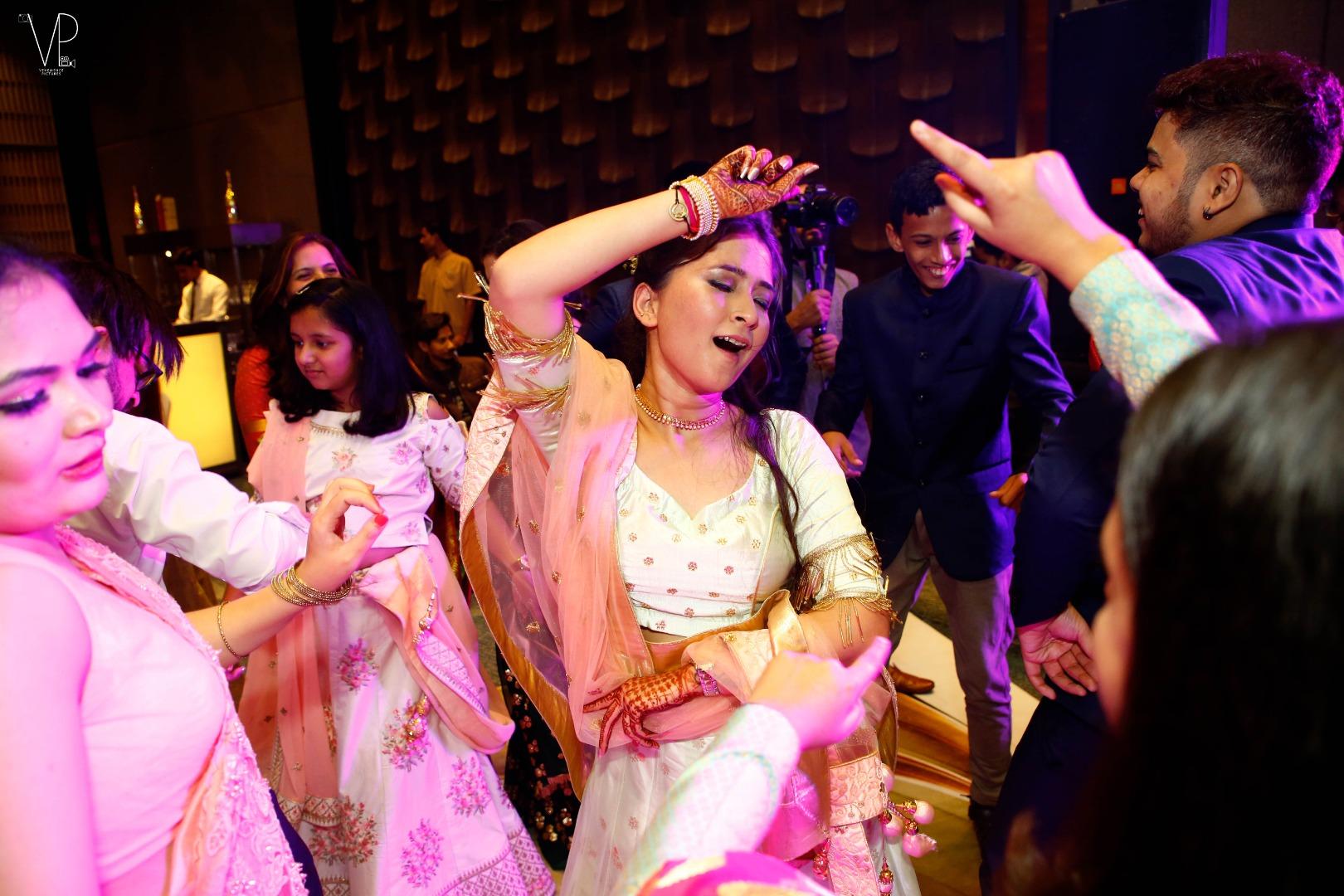 Fun Dancing in Indian Weddings