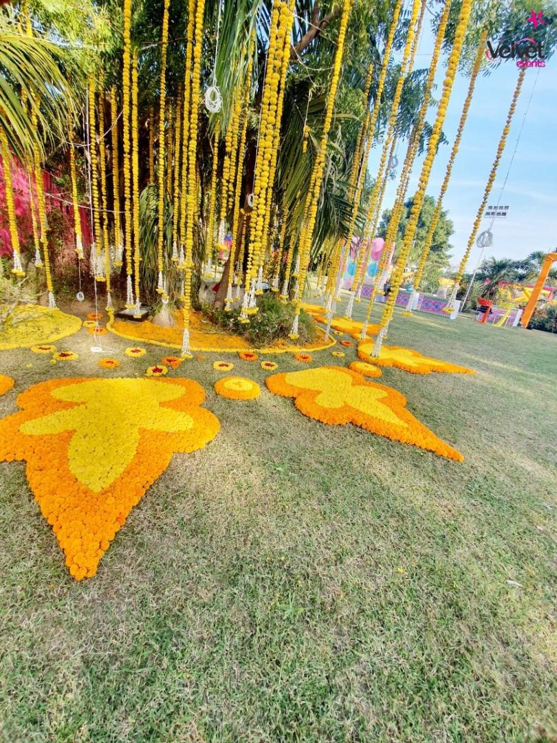 Marigold Floral Decor