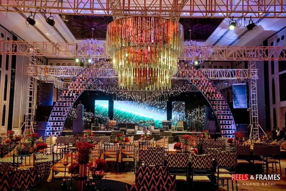 Contemporary Sangeet Night Decor