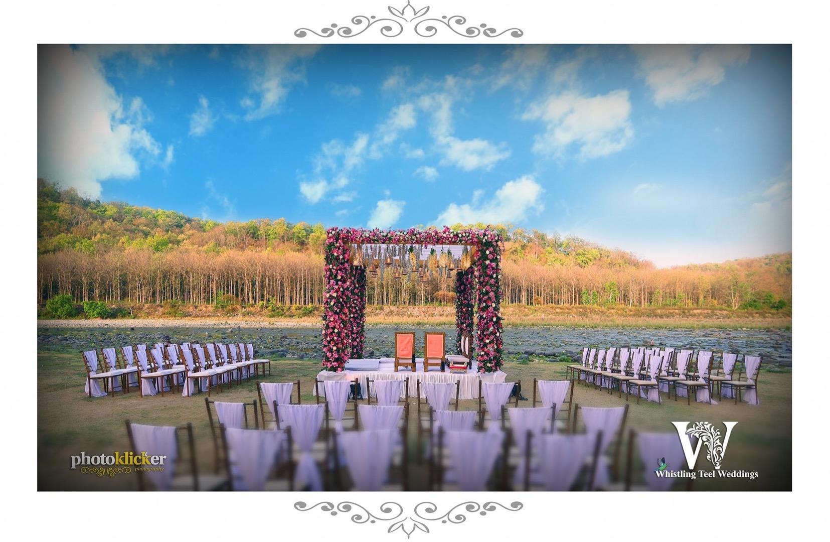 Beautiful destination wedding decor ideas