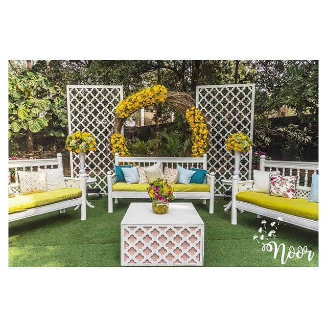 haldi decoration idea
