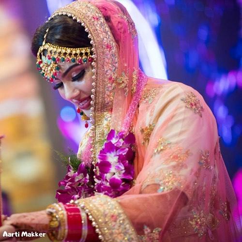 Multi Colored Bridal Mang Tikka