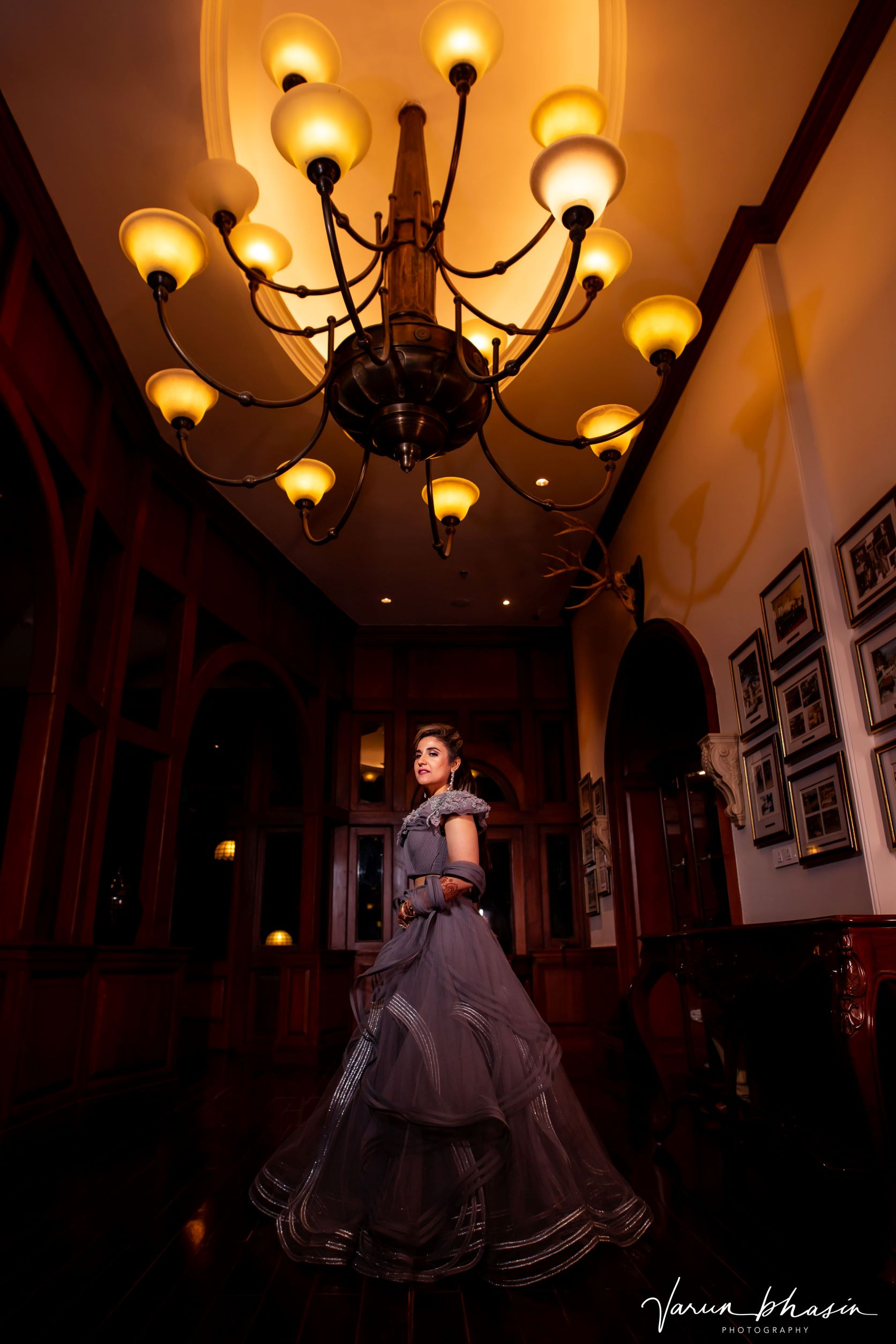 aesthetic bridal shot